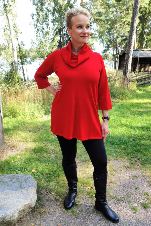 Helena tunika, punainen