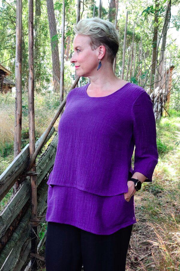 Kivi tunika, violetti