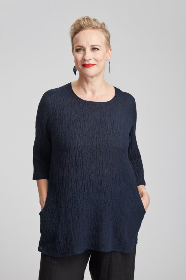 Hertta tunic, navy