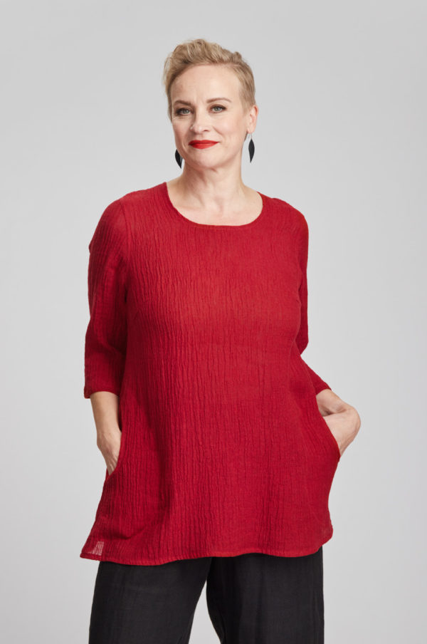 Hertta tunic, red