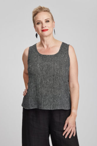Suvi top, grey