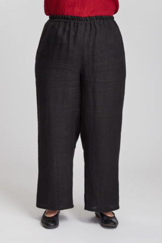 Kuohu trousers, black