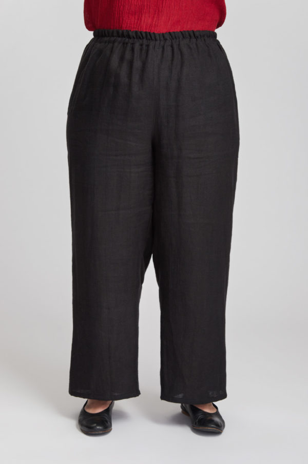 Kuohu housut, musta