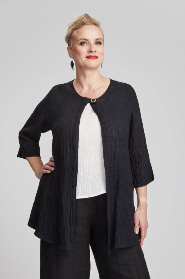 Silmu jacket, black