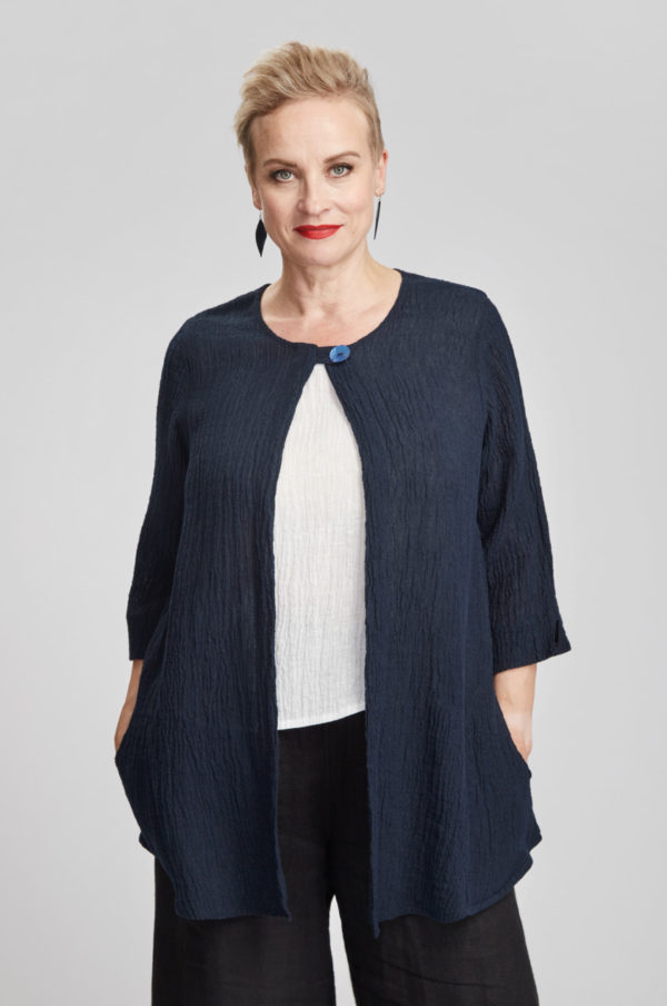 Silmu jacket, navy