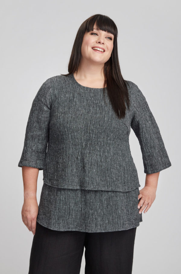 Kivi tunic, grey