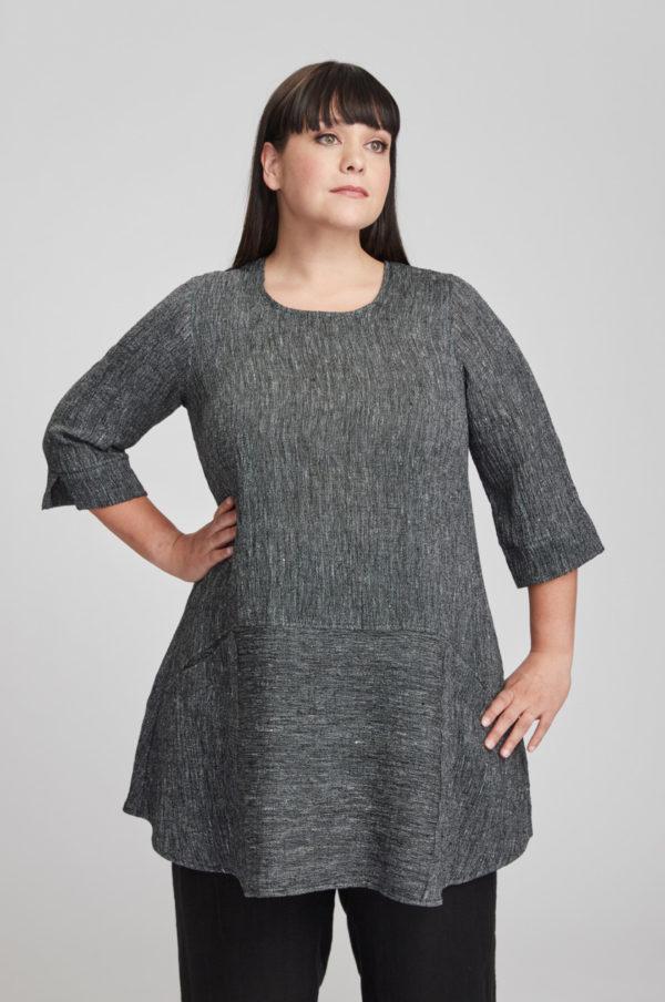 Selja tunic, grey
