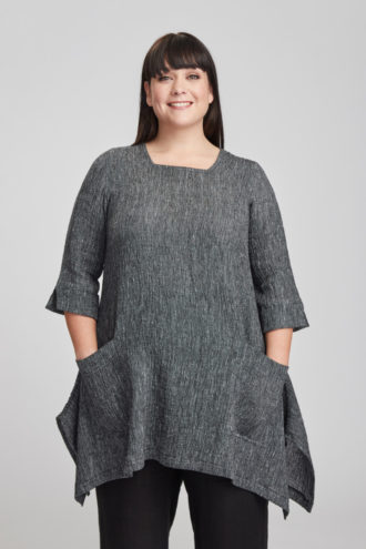Sonja tunic, grey