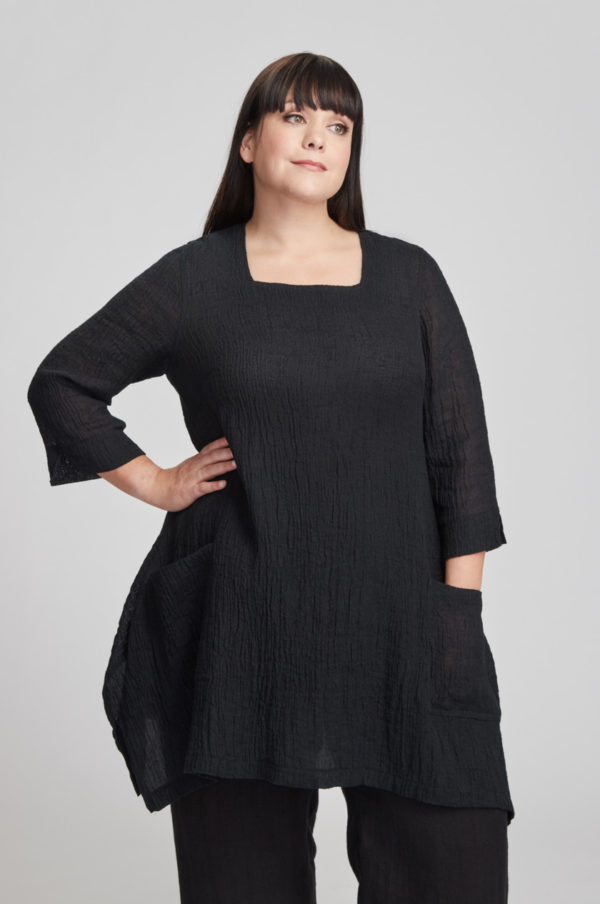 Sonja tunic, black