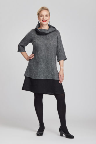 Saarni dress, grey
