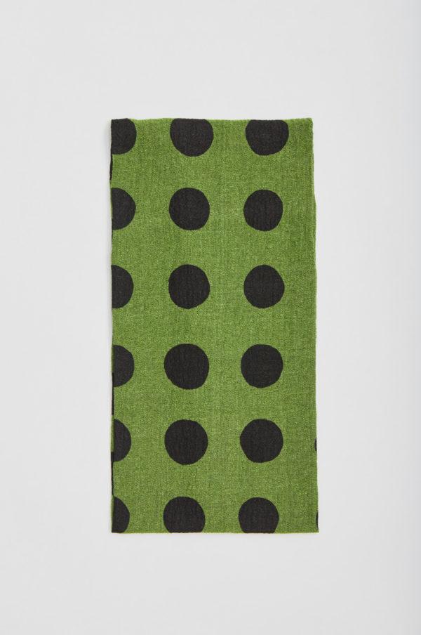 Tuubihuivi, pallollinen, vihreä